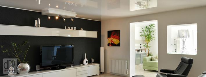 Deco design plafond concessionnaire plafond tendu for Idees pour la maison 11 photos de plafond tendu dans votre piscine